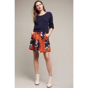Anthropologie Maeve Maira Floral Skirt